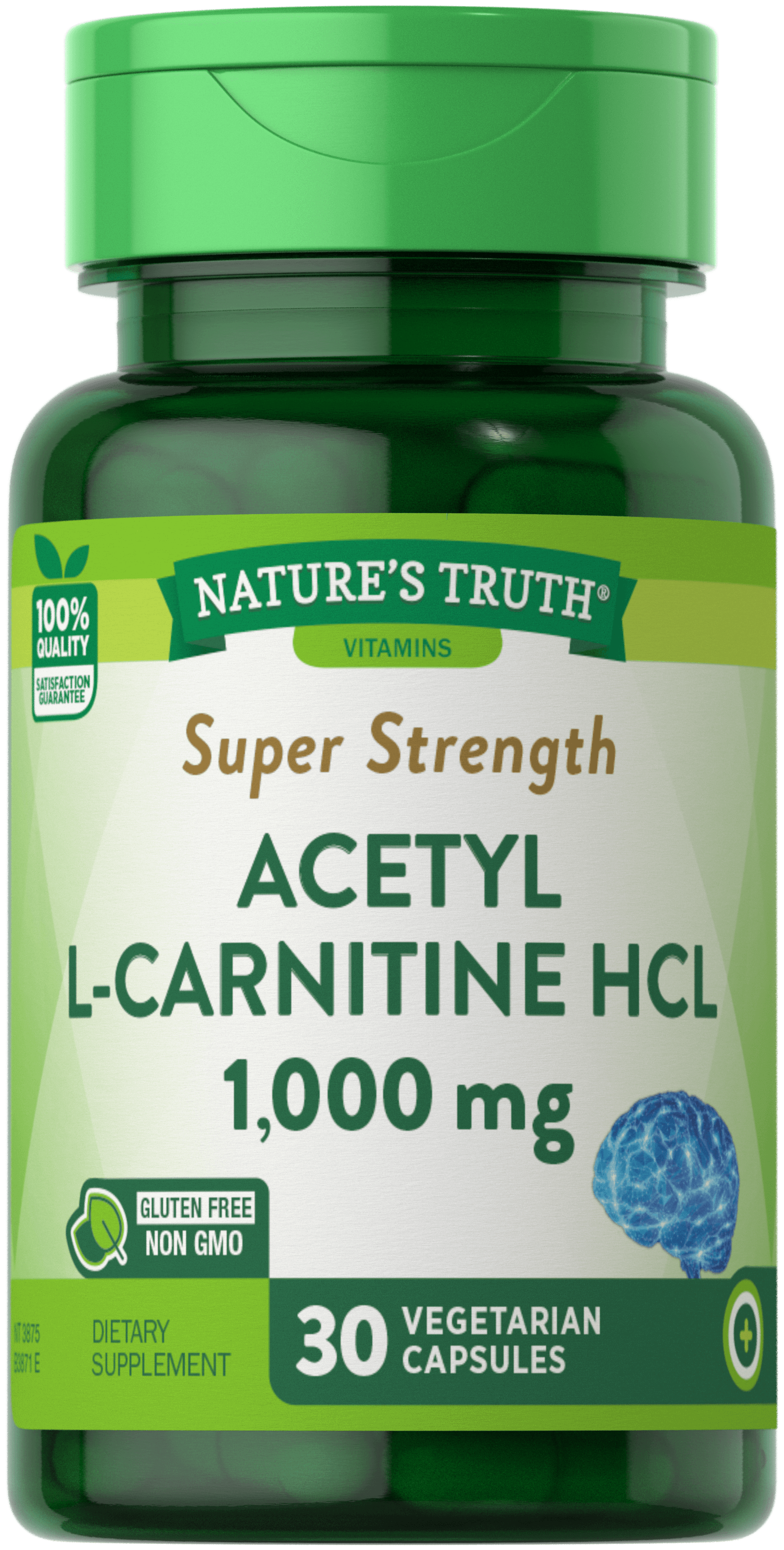 Acetyl L-Carnitine HCL <br>1,000 mg