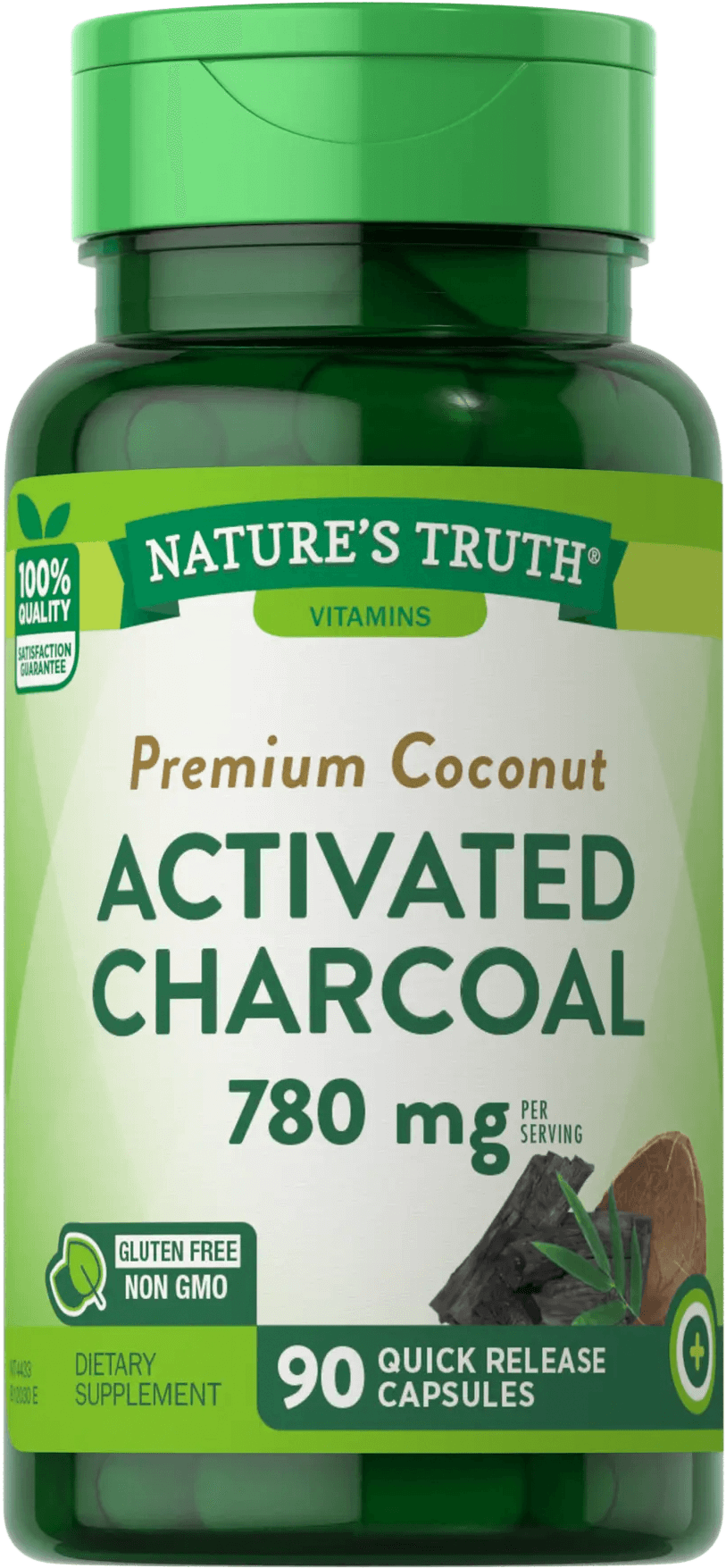 Activated Charcoal<br>780 mg