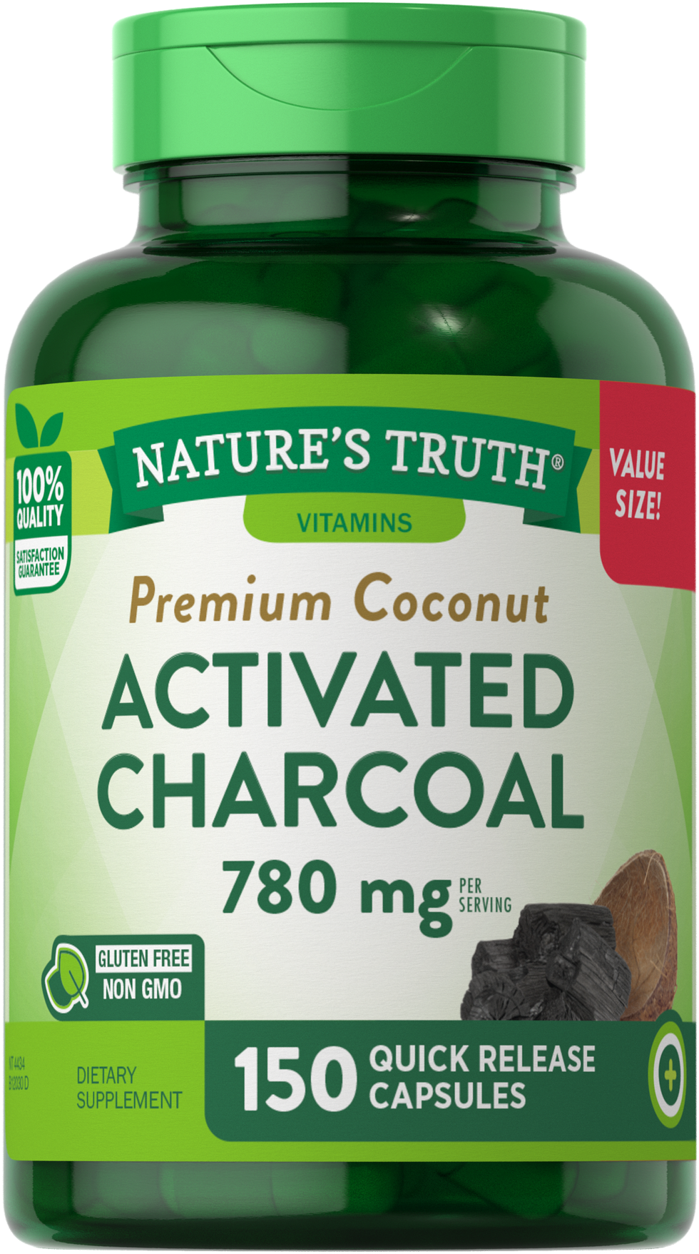 Activated Charcoal 780 mg