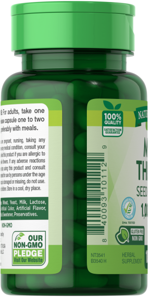 Milk Thistle  Seed Extract 1,000 mg**